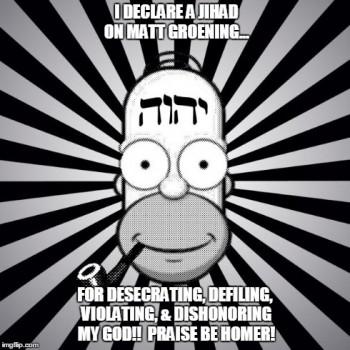 All Hail Bob God Homer